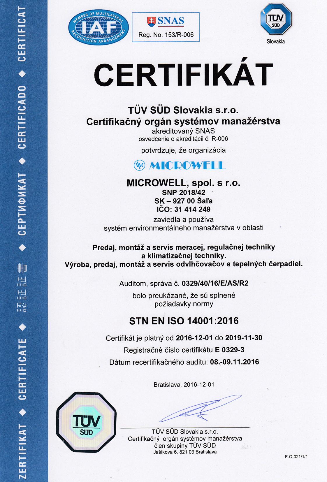 Sk certifikat14001 2018
