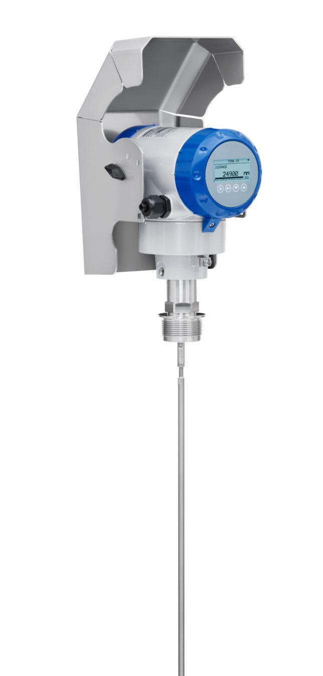 OPTIFLEX 2200 C single rod horizontal weather protection up