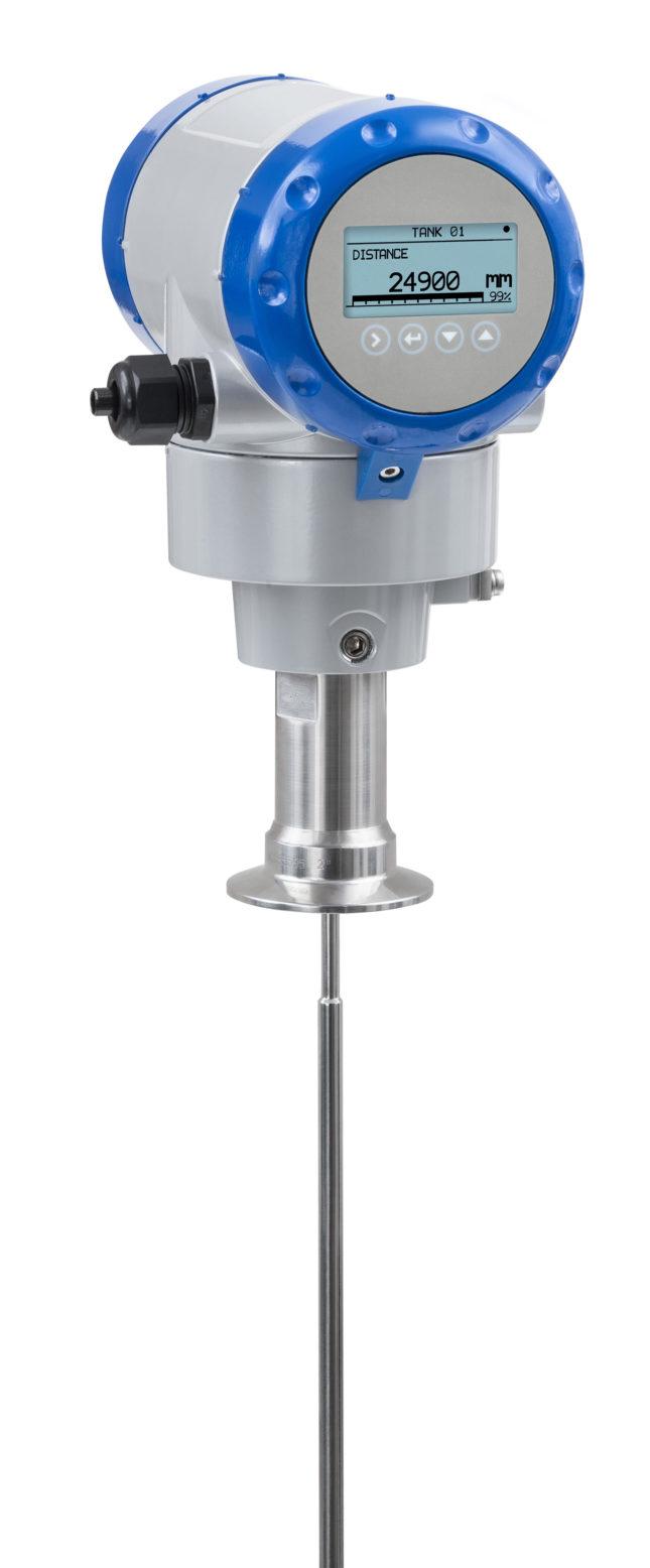 OPTIFLEX 2200 C single rod hygienic horizontal