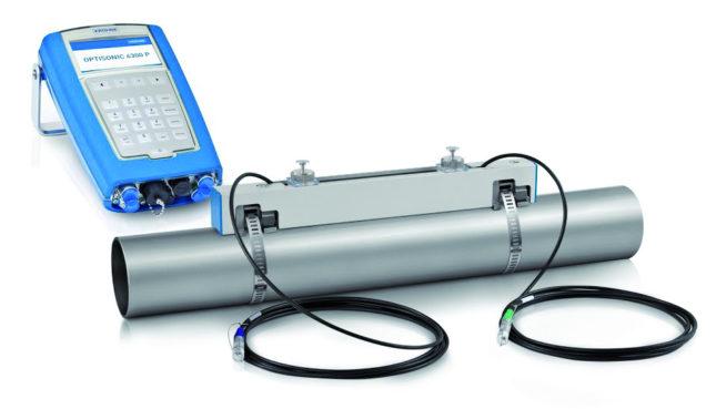 Ultrasonic Flowmeter OPTISONIC 6300 P converter KROHNE