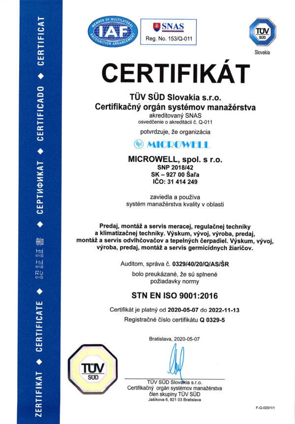 Sk ISO 9001 2020 2022 web