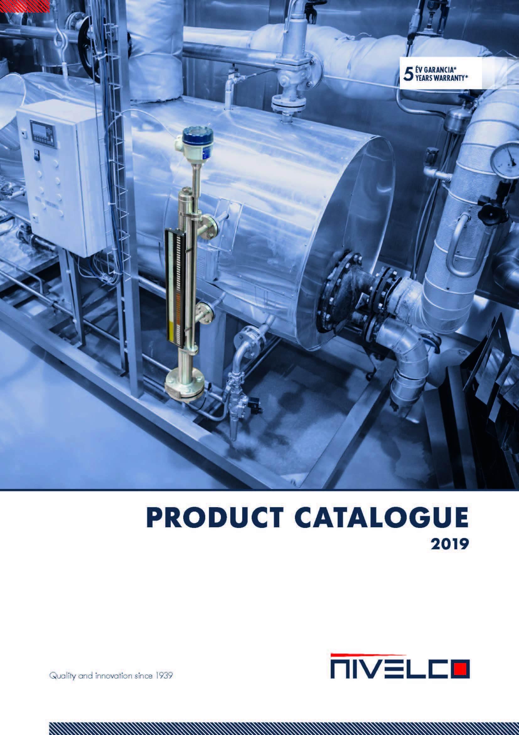 NIVELCO Product Catalogue 2019 Strana 001
